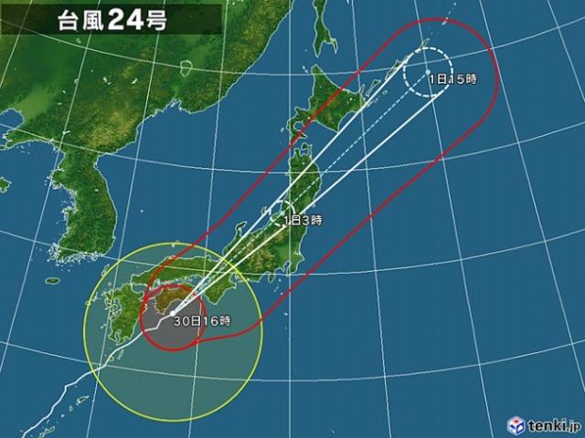 台風24号-01