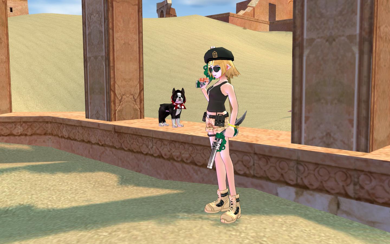 砂漠の砂嵐服1
