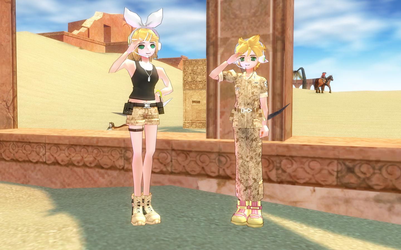 砂漠の砂嵐服4