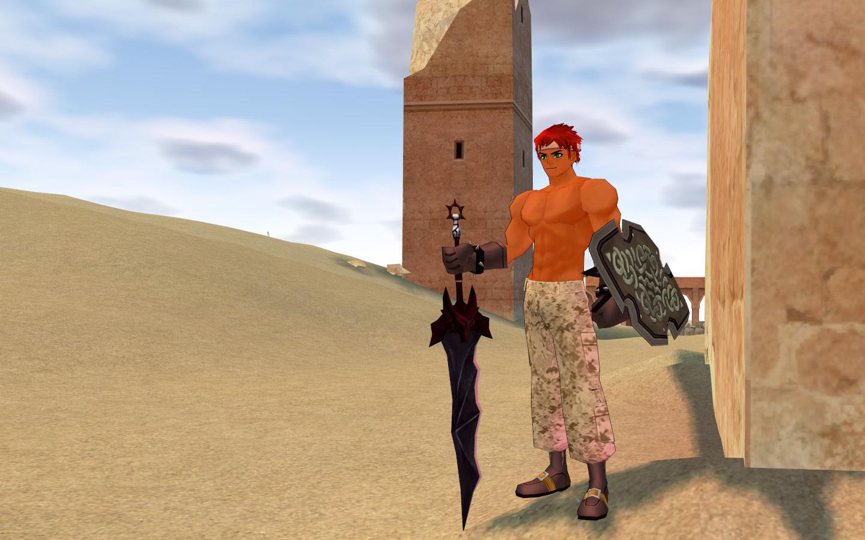 砂漠の砂嵐服5