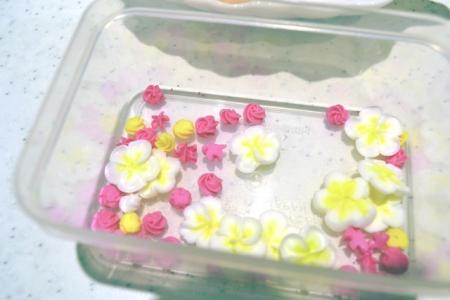 アイシング花びら