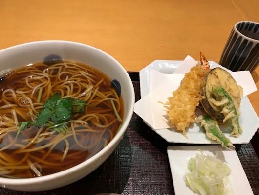 テンプラ蕎麦