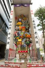 博多祇園山笠 二番山笠 千代流 飾り山 維新回天石堂橋 いしんかいてんいしどうばし 高杉晋作