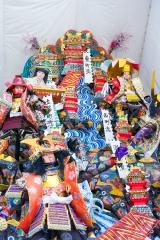 博多祇園山笠2018 六番山笠・東流 飾り山 太閤町割縁