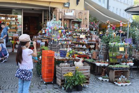 ミュンヘンのマーケット(viktualienmarkt)5