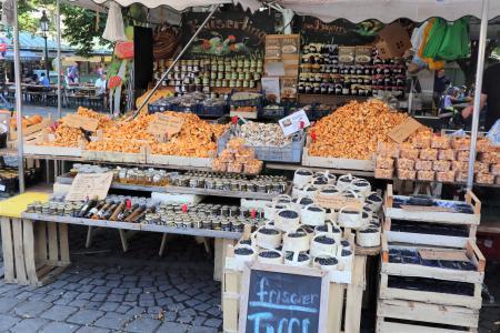 ミュンヘンのマーケット(viktualienmarkt)11