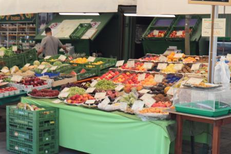 ミュンヘンのマーケット(viktualienmarkt)10