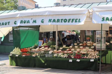 ミュンヘンのマーケット(viktualienmarkt)9