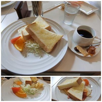 かげろうカフェ8(トーストモーニング)