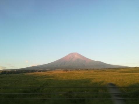1 富士山・車窓から