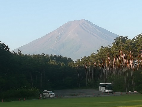 3 県立富士北麓駐車場から富士山