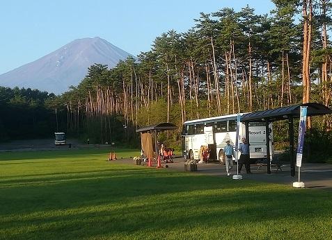 6 富士スバルラインのシャトルバス乗り場