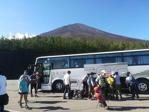 9 富士山五合目に到着