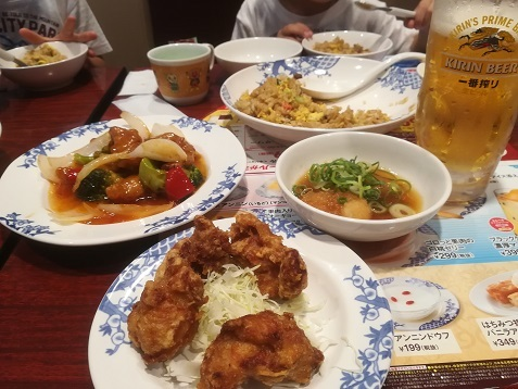 24 夕食は中華レストラン