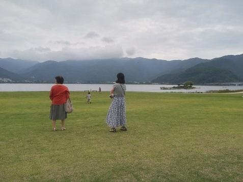 7 河口湖 八木崎公園