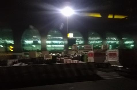 3 ターミナル3に到着