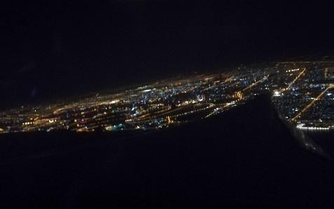 6 ドバイ空港を離陸