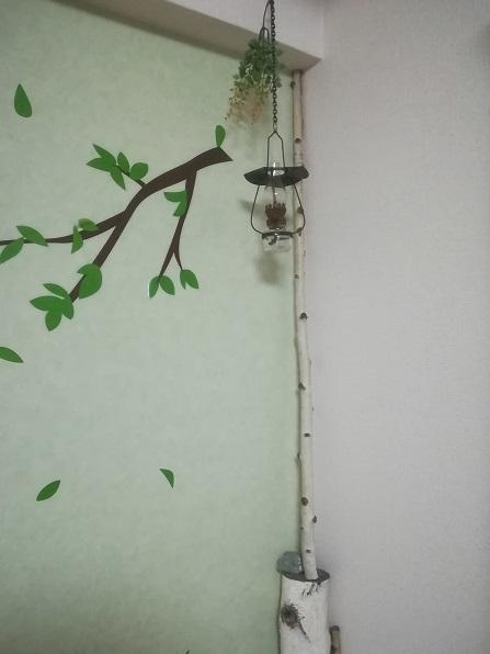 1 山小屋風のランプ
