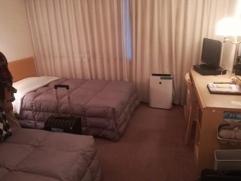 4 下関市のホテルへ到着