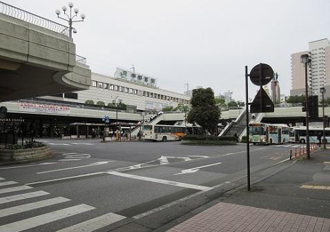 1 JR宇都宮駅前