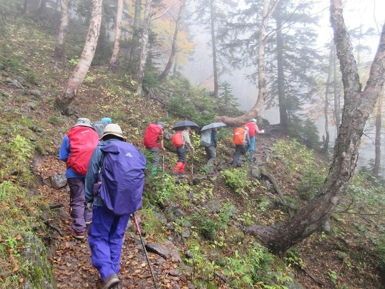 15 日光白根山への登山道