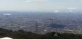 11 飛行塔より大阪平野と大阪湾 大