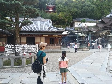 18 宝山寺へやって来た