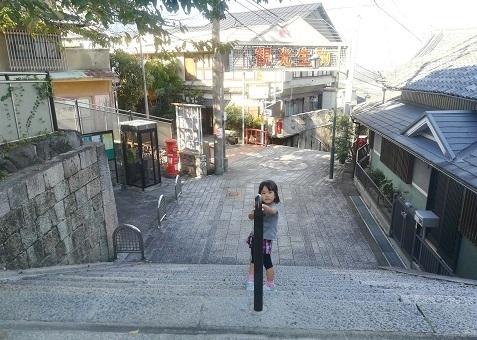 20 生駒駅まで参道を下る