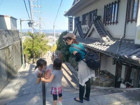 21 生駒駅まで参道を下る