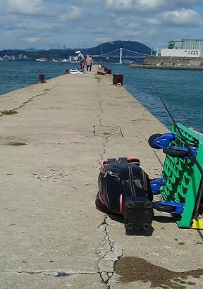 9月20日 片上漁港