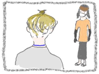 babaの髪 ご近所さん3