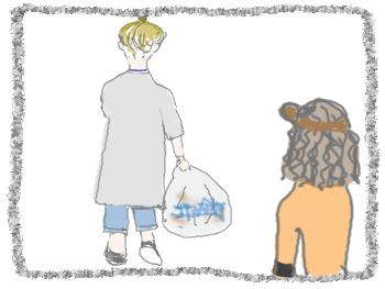 babaの髪 ご近所さん5