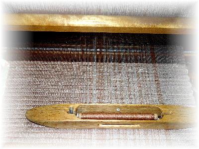 裂き織りマフラー23-3