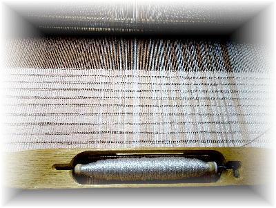 裂き織りマフラー25-4