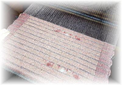 裂き織りマフラー27-1