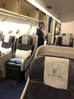 エジプト航空座席