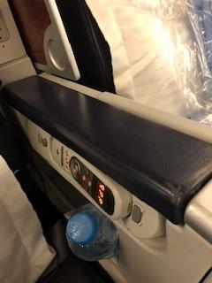 エジプト航空ビジネスクラスお水
