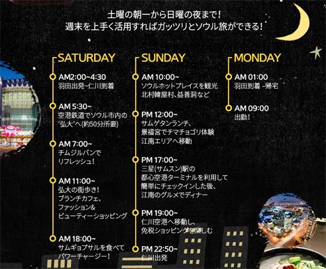 チェジュ航空は、東京(羽田)~ソウル(仁川)線を週2便運航、片道3,000円~!2
