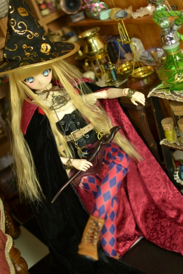 魔女帽子と魔女の杖ー1