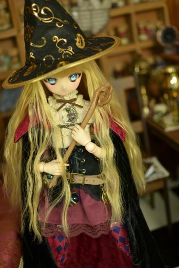 魔女帽子と魔女の杖ー3