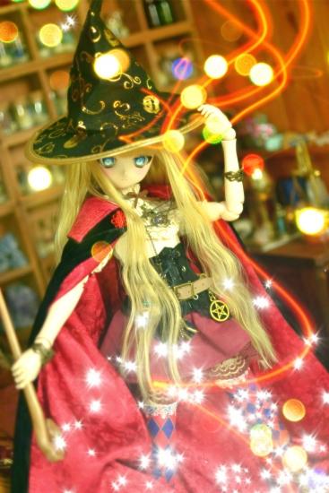 魔女帽子と魔女の杖ー8