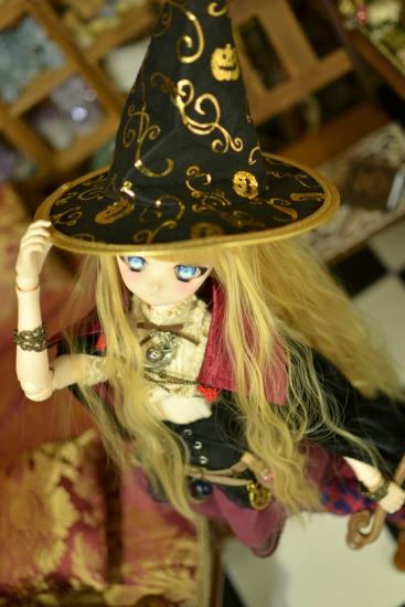 魔女帽子と魔女の杖ー4