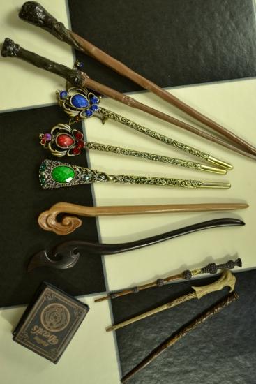 魔女帽子と魔女の杖ー2