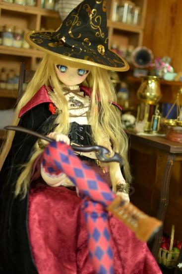 魔女帽子と魔女の杖ー5