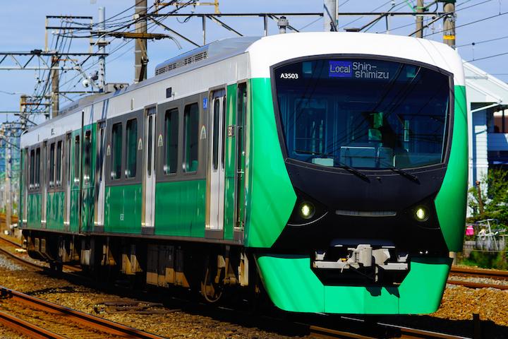 180805 Shizutetsu 3504 Green