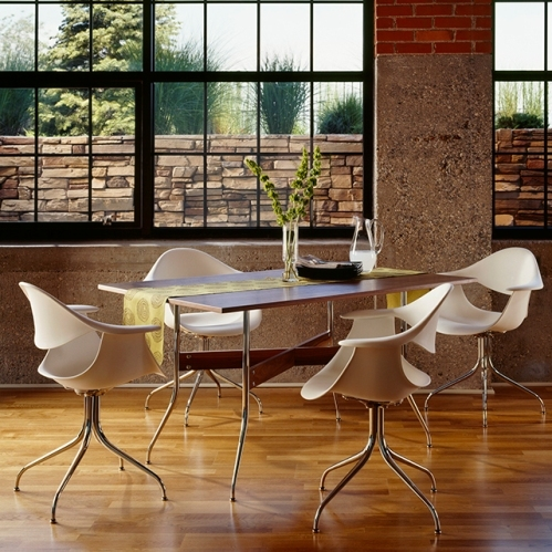 Nelson Swag Leg Group Dining Table 長方型 George Nelson( ジョージ・ネルソン)Herman Miller (ハーマンミラー)