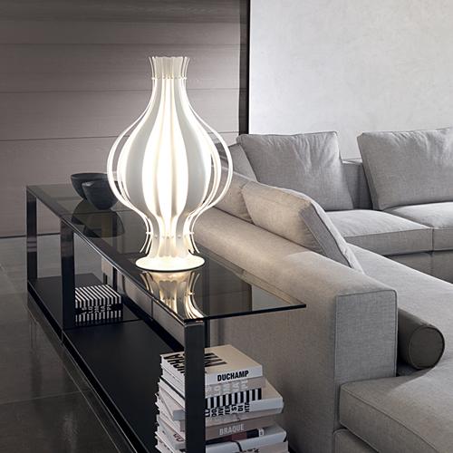 YAMAGIWA LAMP(ヤマギワランプ)ホワイト Verner Panton(バーナー・パントン)VERPAN(ヴァーパン)