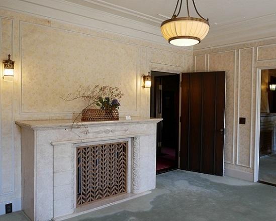 旧華頂宮邸マントルピース2