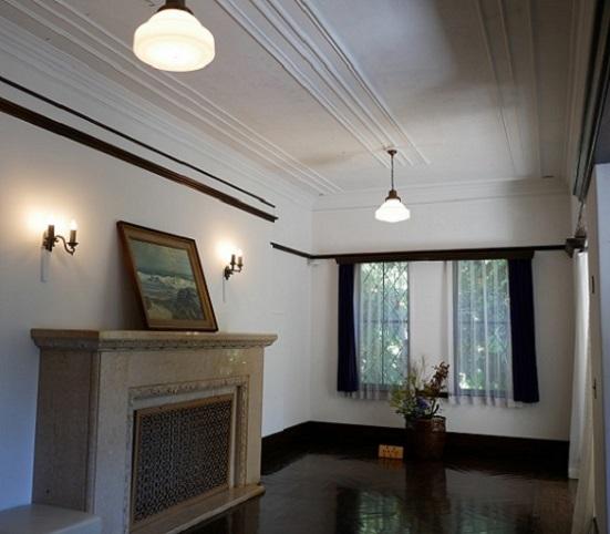 旧華頂宮邸マントルピース3