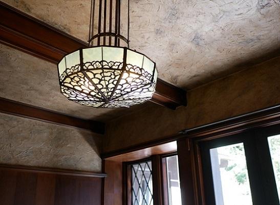 旧華頂宮邸ライト1
